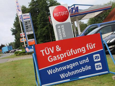 Neu bei FELTA in Friesoythe - TND (Tank Netz Deutschland) Karte