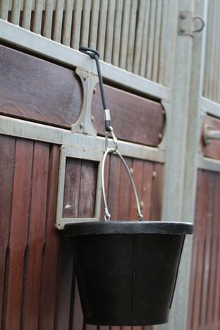Hanger for water bucket or accessories