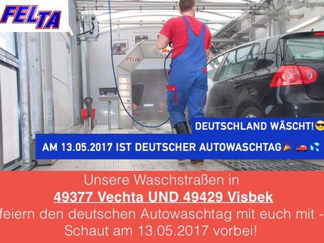 Am Samstag ist Deutscher Autowaschtag