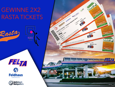 Gewinne Rasta Vechta Tickets - Facebook Gewinnspiel🏀