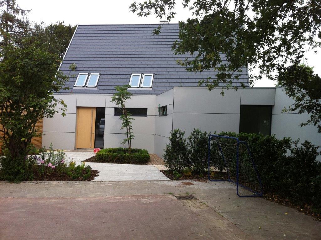 Fassade Dachdeckerei Fangmann Visbek