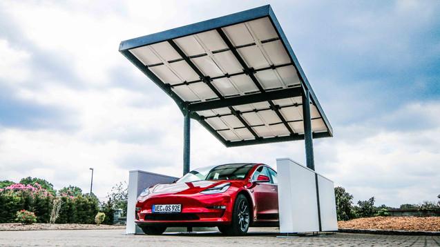 Unsere Solar - Carports