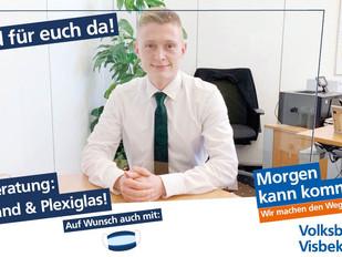 VISBEK macht sichere Beratung - Volksbank Visbek😷😃💪