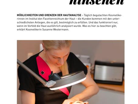 GANZ GENAU hinsehen - Mein neuer Artikel im Beauty Forum Magazin