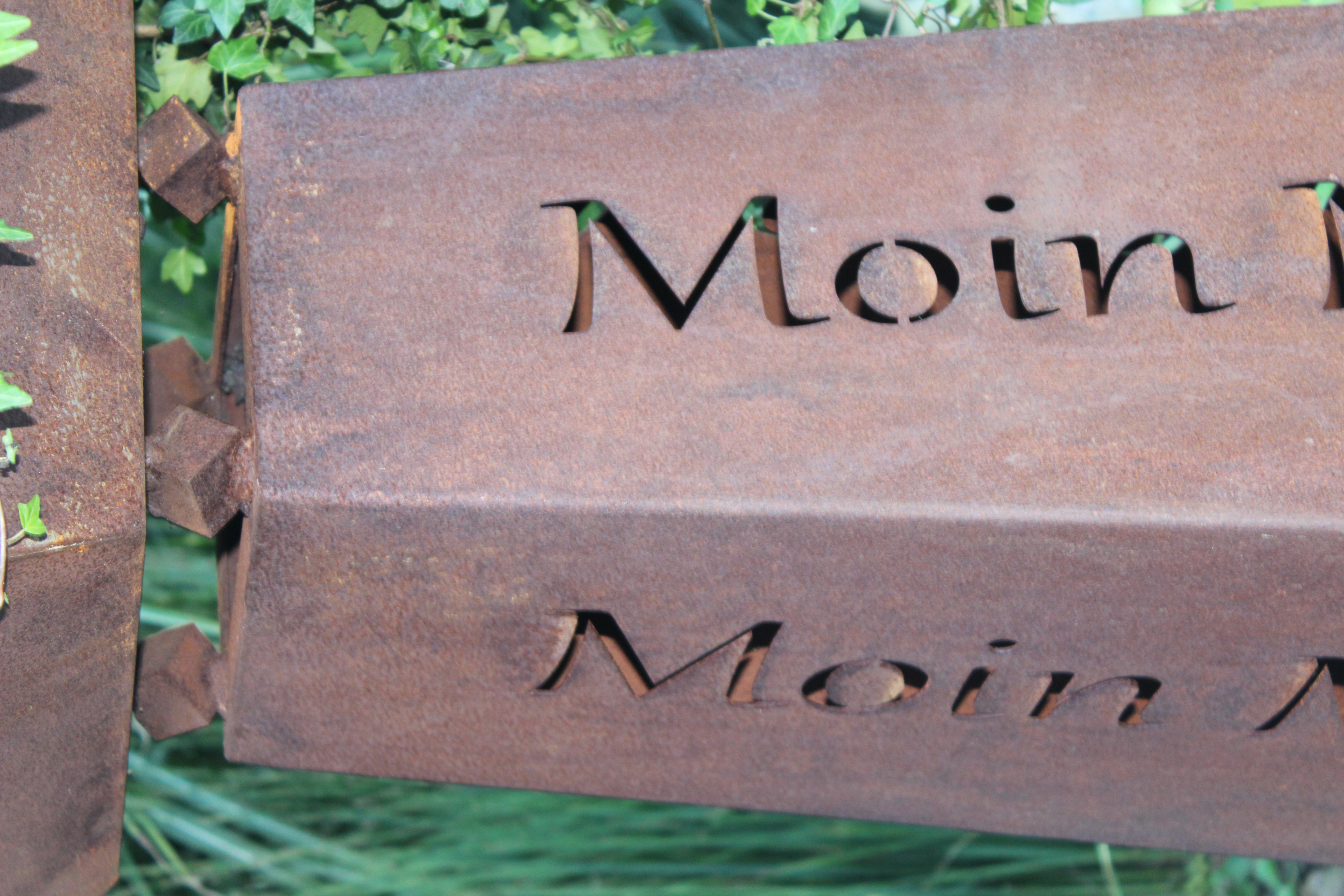Säule Standard Kiek moal rin/ Moin