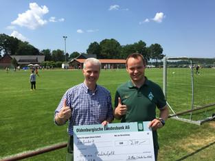 Werder Fans Visbek unterstützen 4. Wiesenhof-Cup