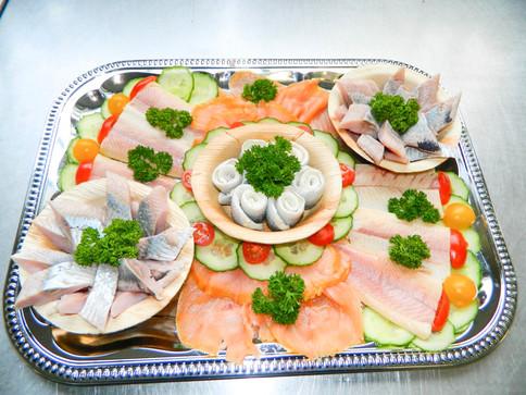 VISBEK machtleckere Fischplatten zu Weihnachten - Inhester's Fischspezialitäten🥗🍤🐟🎅🎄
