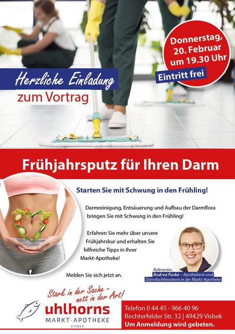 VISBEK machtFrühjahrsputz für den Darm - Uhlhorns Marktapotheke♻️😃👍