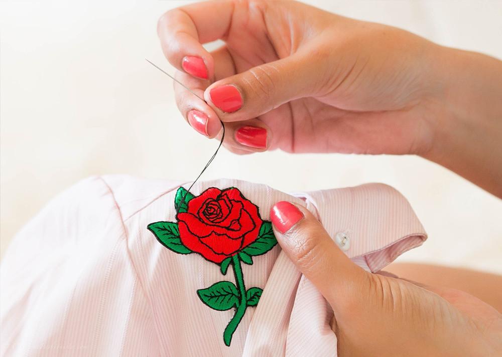 how to sew on motifs sew retro tutorial