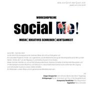 plakat _Social Me