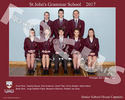 Senior School House Captains