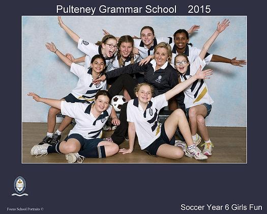 Soccer - Year 6 Girls Fun