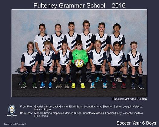 Year 6 Boys Soccer