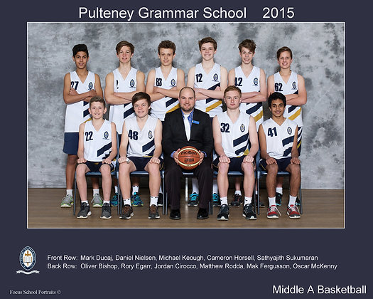 Middle A Boys Basketball