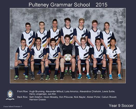 Year 9 Soccer