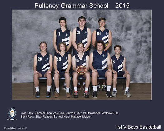 1st V Boys Basketball
