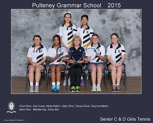 Senior C & D Girls Tennis