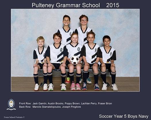 Soccer - Year 5 Boys Navy