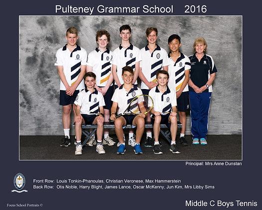 Middle C Boys Tennis