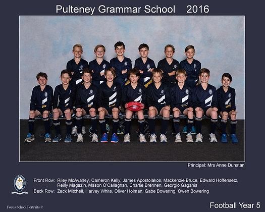 Year 5 Football