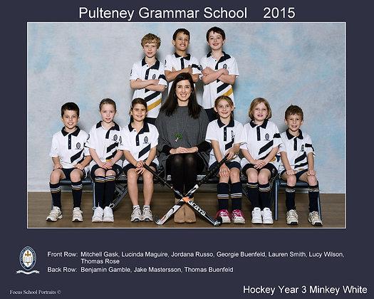 Hockey - Year 3 Minkey White