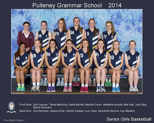 Senior Girls Basketball