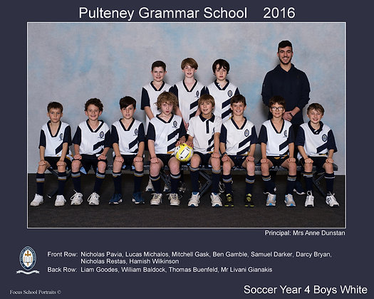 Year 4 Boys Soccer White