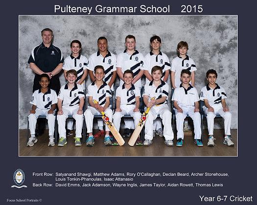 Year 6-7 Cricket