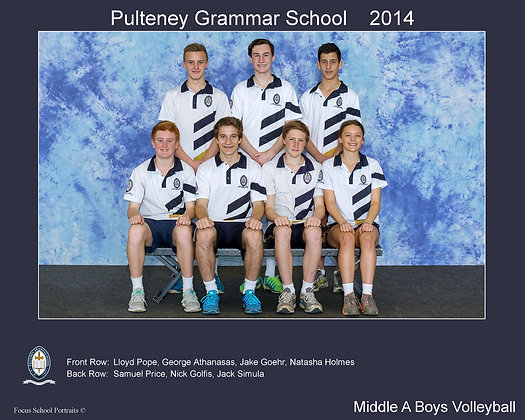 Middle A Boys Volleyball