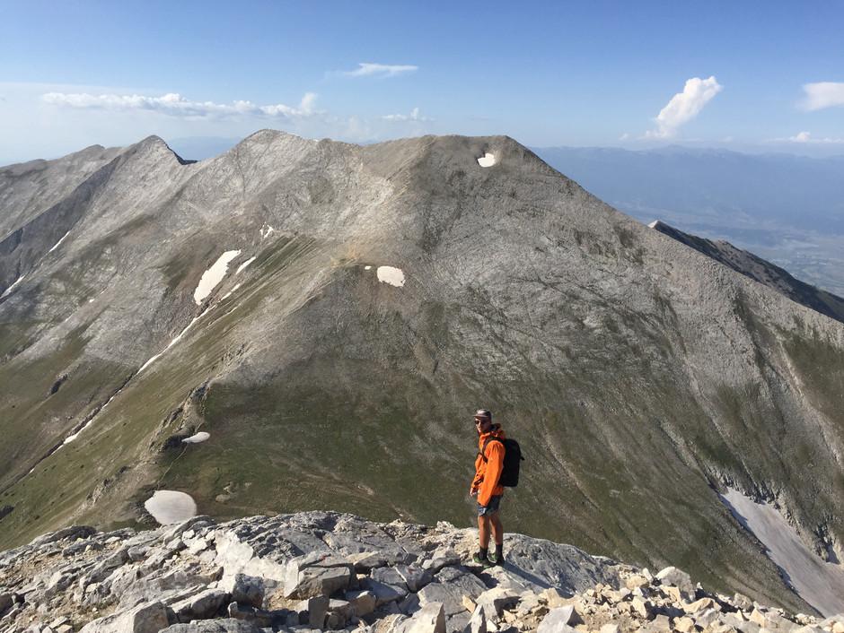 Pirin ridgeline