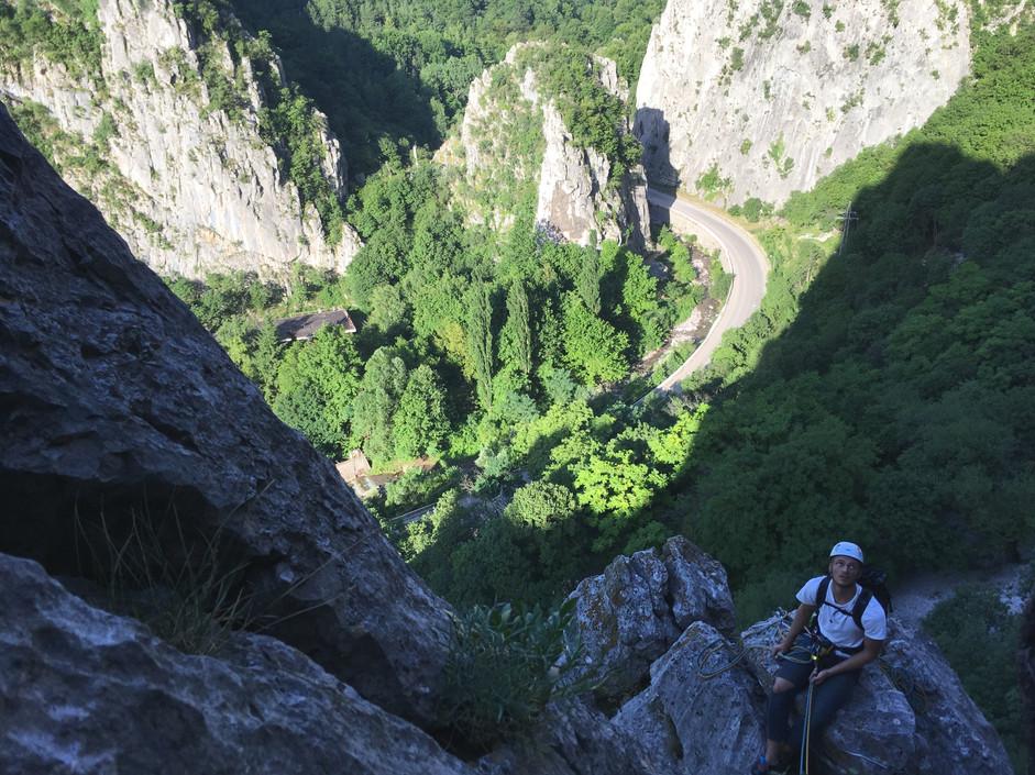 Climbing in Vratsa
