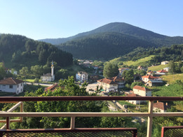 Bulgarian mountain village