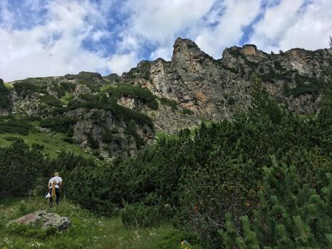 Climbing in Rila