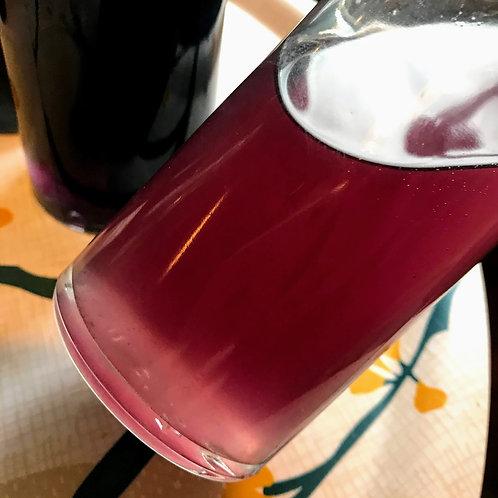 Sirop de violette naturel coloré