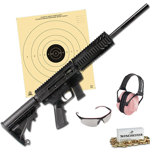 9mm Rifle Rental Package $95 + Tax