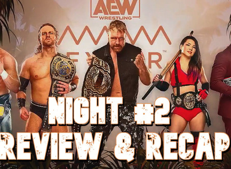 Join us LIVE TODAY at 2pm/EST on YouTube for the AEW Fyter Fest Night #2 Review & Recap Show