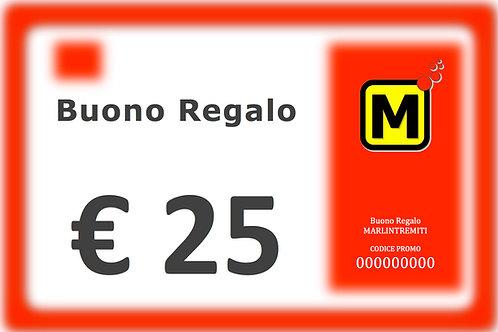 CARD MARLIN 25