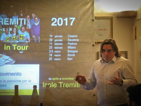 Cesena - 1° tappa del Marlintremiti in tour