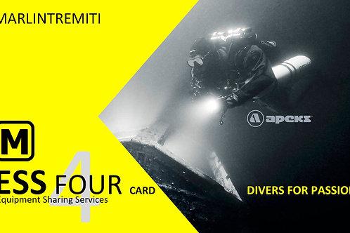 ESS Card 4 | in due giorni | NITROX free