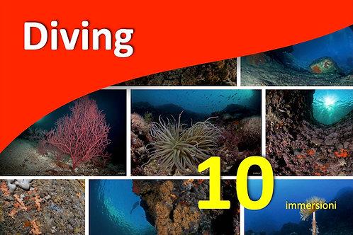 10 immersioni - NITROX free