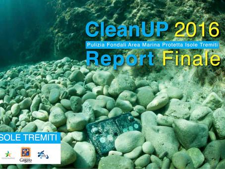 Report Finale della Campagna CleanUp 2016