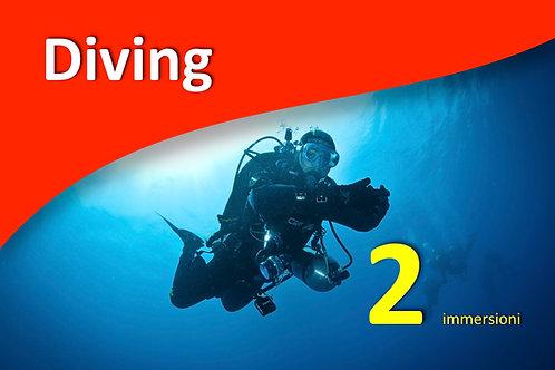 2 immersioni | in giornata | NITROX free