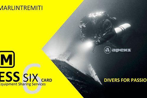 ESS Card 6 | in tre giorni | NITROX free