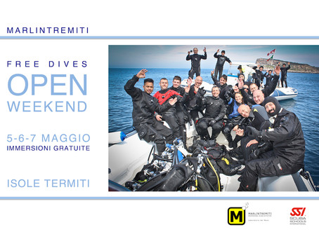 Free Dives Open Weekend 2017