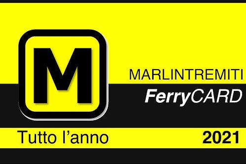 Ferry CARD | tutte le volte che vuoi | Traghetto GRATUITO |