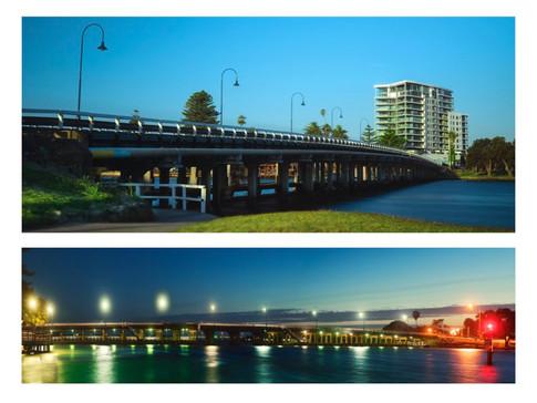 Old Madnurah Bridge WA