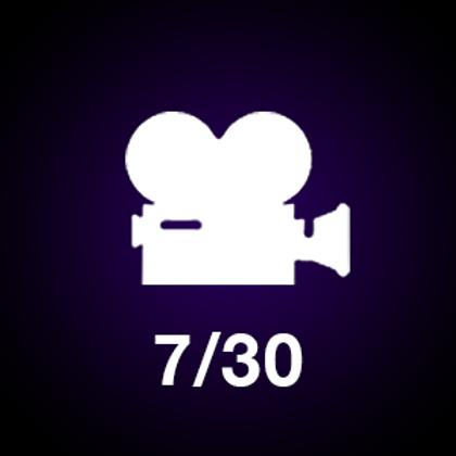 7/30 Seconds Video