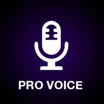 V - Pro Voice Over (VO)