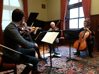 Robert Mann String Quartet Institute, N.Y.       4-8 January 2017