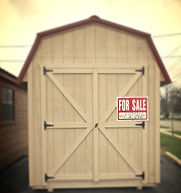 storage shed, mini shed, custom shed, shed, mini cabin, custom cabin, custom barn, mini barn, storage barn, hunting blind, Amish built, Michigan made